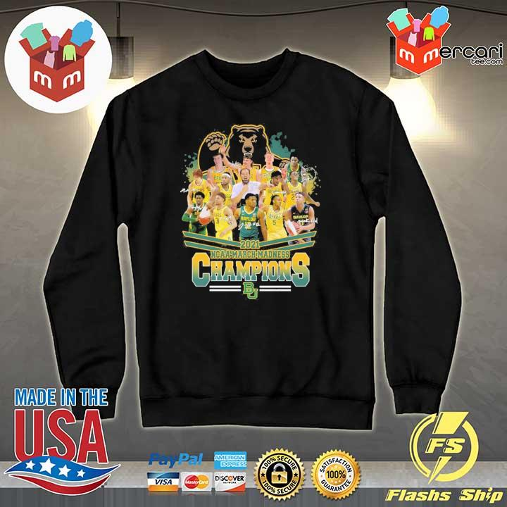 Official 2021 ncaa march madness champions signatures Sweater