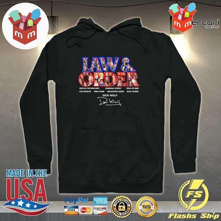 Official jaw & order special victims unit criminal intent trial by jury signaute Hoodie
