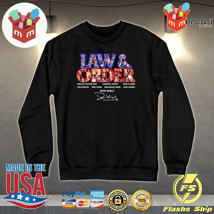 Official jaw & order special victims unit criminal intent trial by jury signaute Sweater