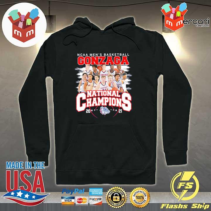 Official ncaa men's basketball gonzaga national champions 2021 Hoodie