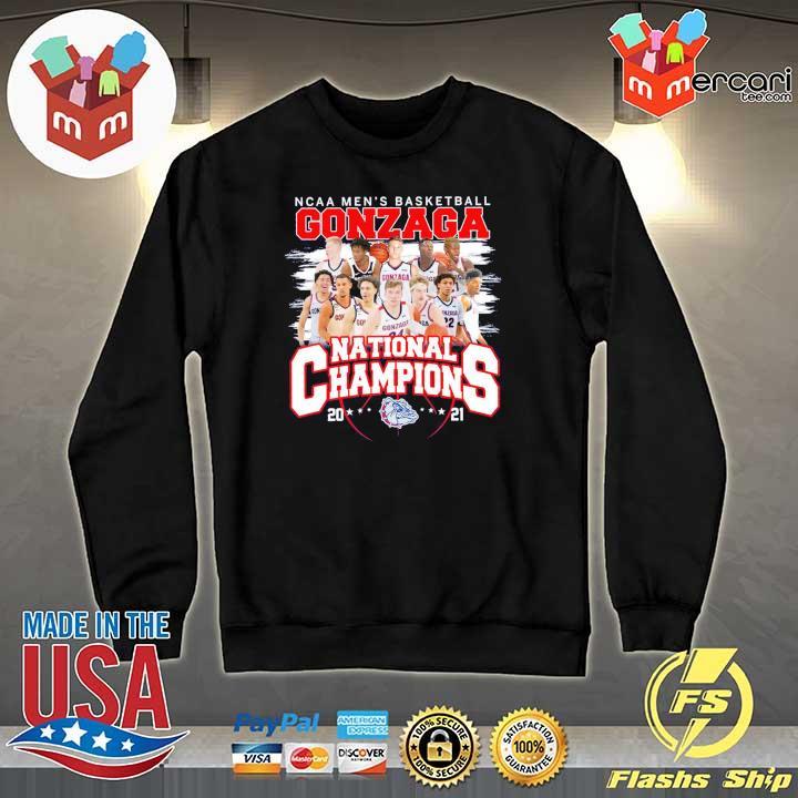 Official ncaa men's basketball gonzaga national champions 2021 Sweater