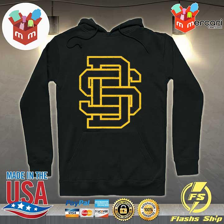 Official san diego sd home monogram game day padre Hoodie