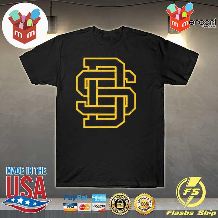 Official san diego sd home monogram game day padre shirt