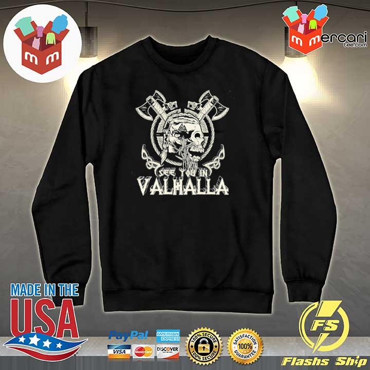 Official see you in valhalla viking vintage Sweater