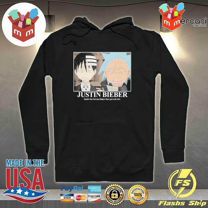 Official soul eater justin bieber Hoodie