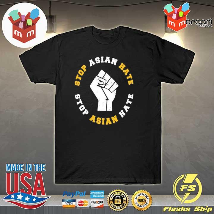 Official stop asian hate stop asian hate shirt