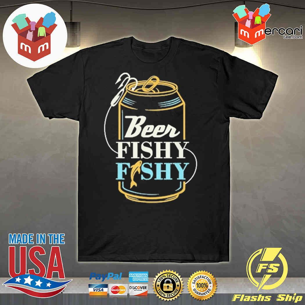 Happy Beer Fishy Fishy Fishing Shirt