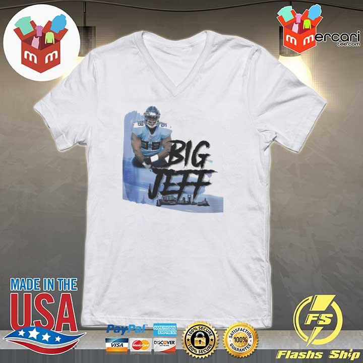 Big Jeff Tee Shirt, Jeffery Simmons – Tennessee Titans V-neck