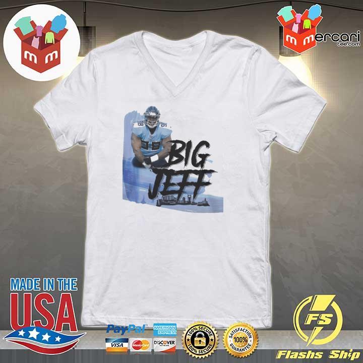 Big Jeff Tee Shirt, Jeffery Simmons – Tennessee Titans V-neck