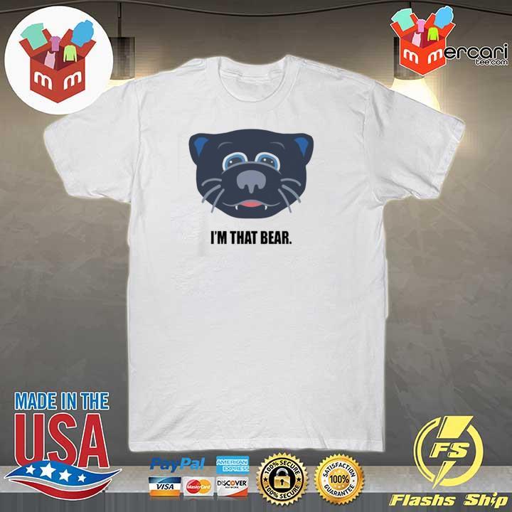 Carolina I'm that bear t-shirt