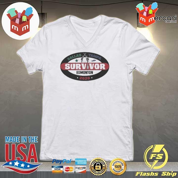 Dallas – Tampa Survivor Edmonton 2020 Shirt V-neck