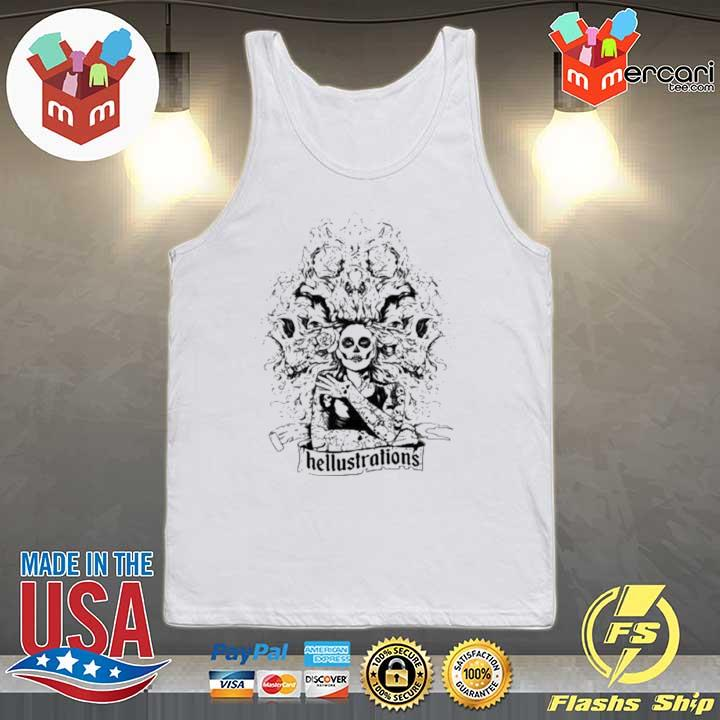 Day Of The Dead Dia De Los Muertos Sugar Skull Girl Shirt Tank-top