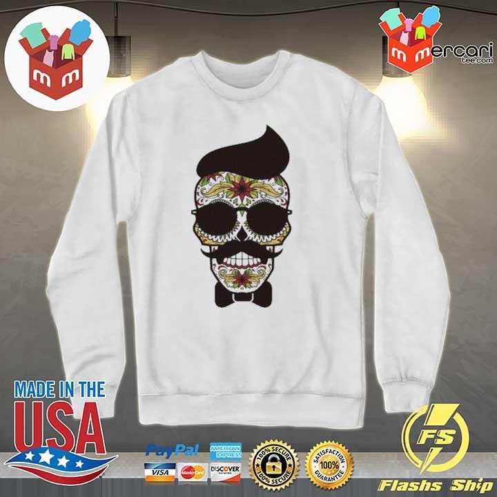 Funny Sugar Skull Gentlemen Day Of Dead Dia De Muertos Shirt Sweater