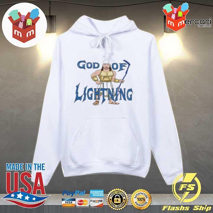 God Of Lightning Tee Shirt Hoodie