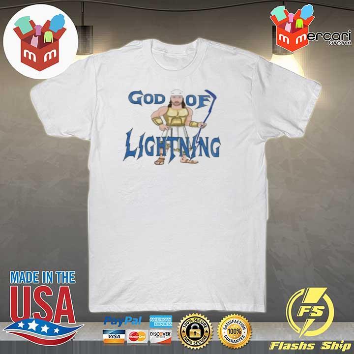God Of Lightning Tee Shirt