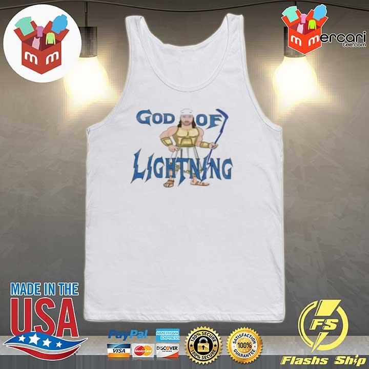 God Of Lightning Tee Shirt Tank-top