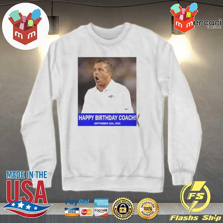 HAPPY BIRTHDAY COACH 23 9 2020 Shirt Sweater