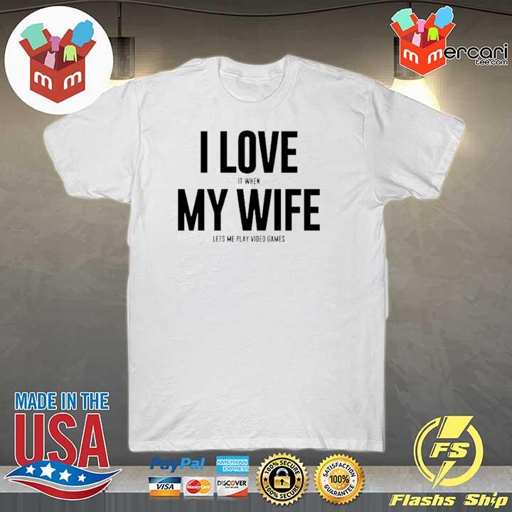 Mike Evans I Love My Wife Shirt