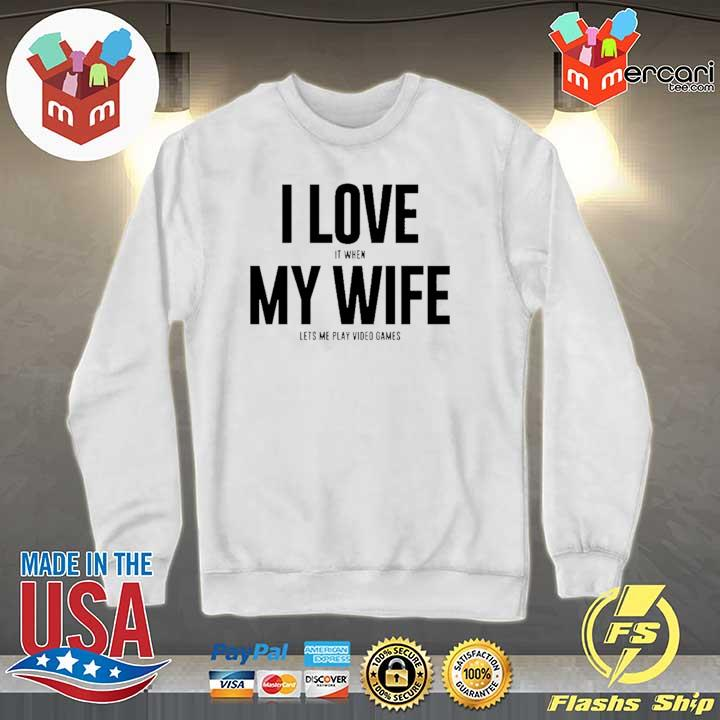 Mike Evans I Love My Wife Shirt Sweater