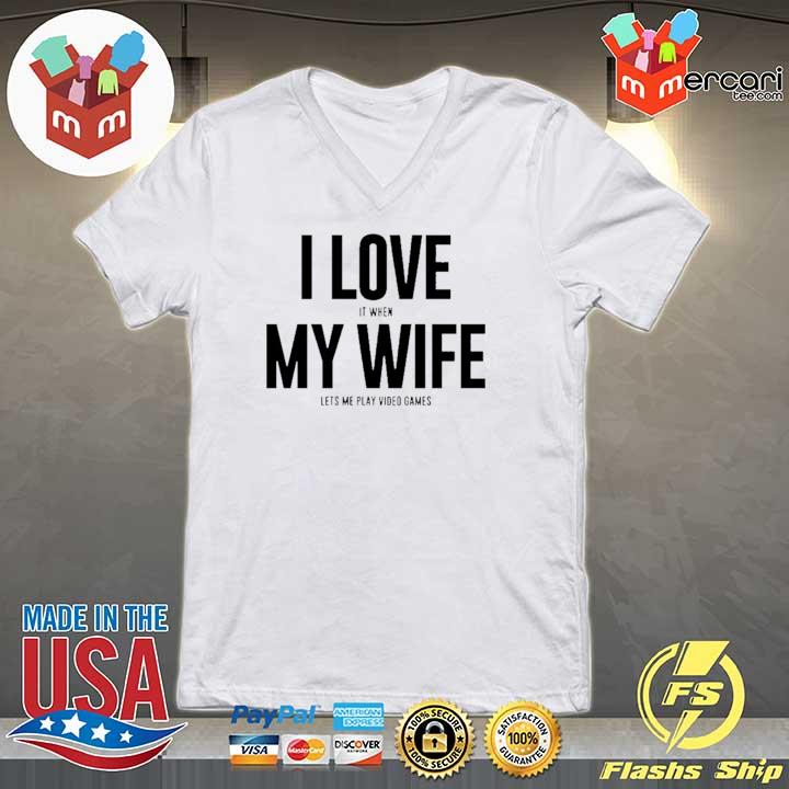 Mike Evans I Love My Wife Shirt V-neck