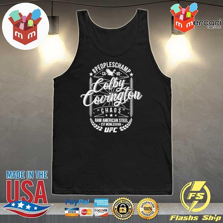 #Peopleschamp Colby Covington UFC T-Shirt Tank-Top