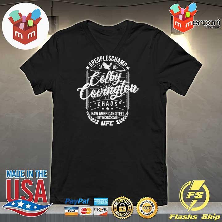 #Peopleschamp Colby Covington UFC T-Shirt V-neck