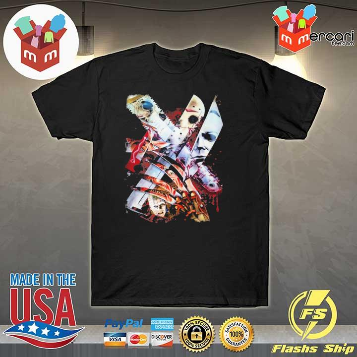 Weapons Horror Movie Characters Halloween Shirt