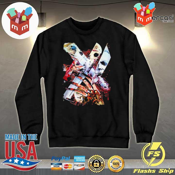 Weapons Horror Movie Characters Halloween Shirt Sweater