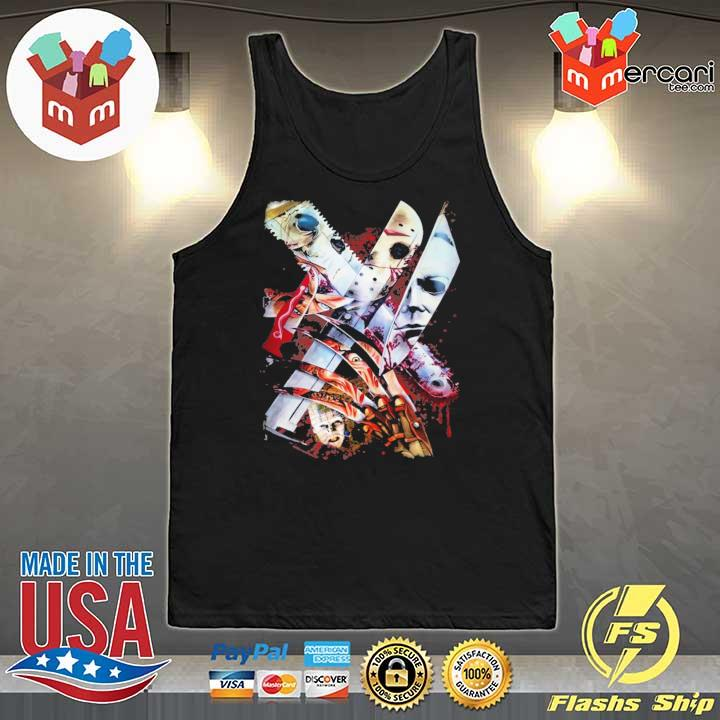 Weapons Horror Movie Characters Halloween Shirt Tank-Top