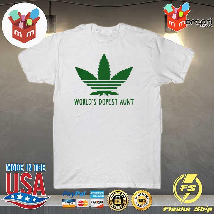 Weed World's Dopest Aunt Shirt