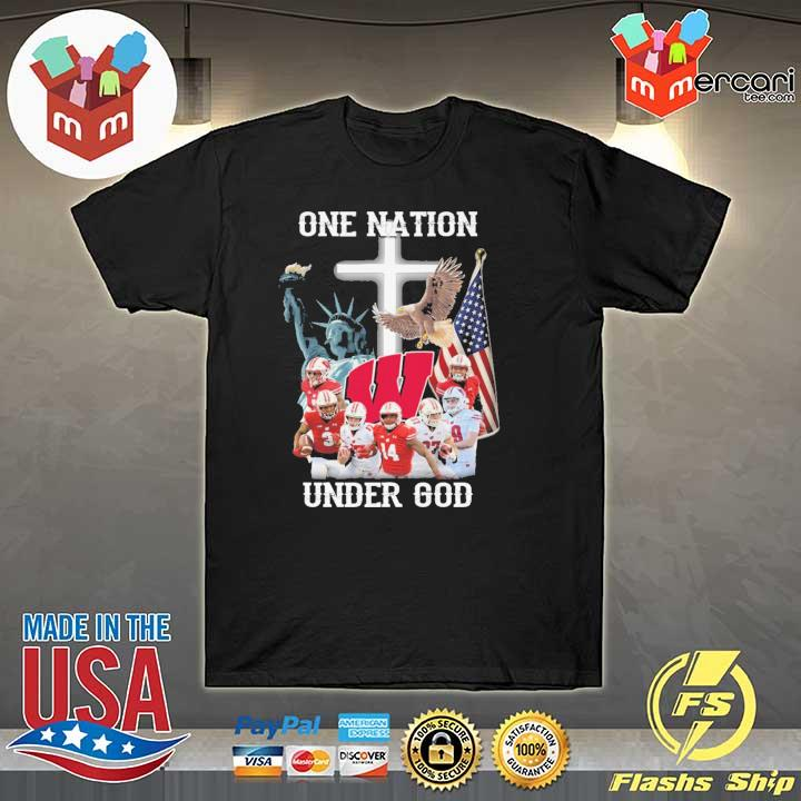 Wisconsin Badgers One Nation Under God Shirt