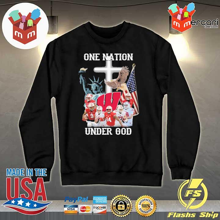 Wisconsin Badgers One Nation Under God Shirt Sweater