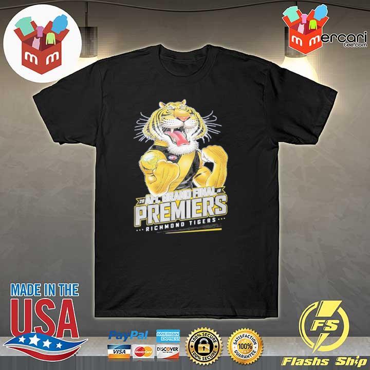 20 AFL grand final premiers richmond tigers t shirt