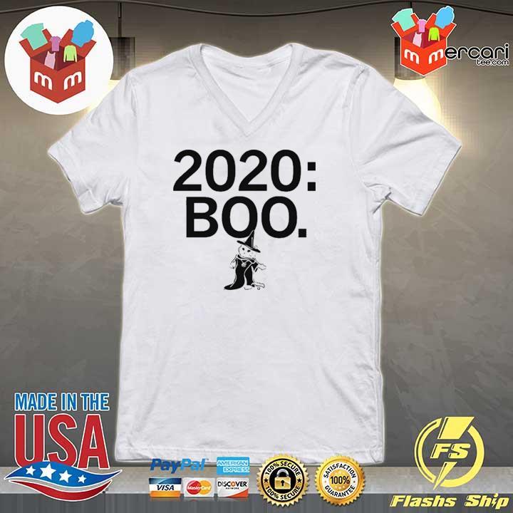 2020 BOO CAT SHIRT V-neck