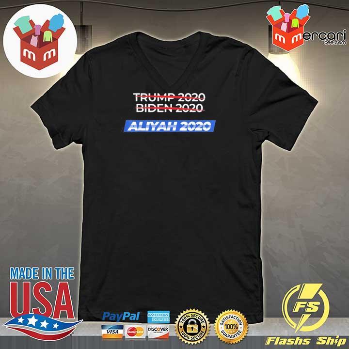 2020 Election Biden Trump Aliyah Shirt V-neck