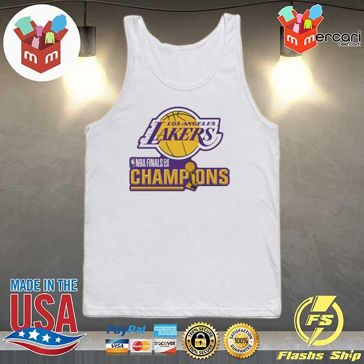 2020 Los Angeles Lakers Champions Shirt Tank-top