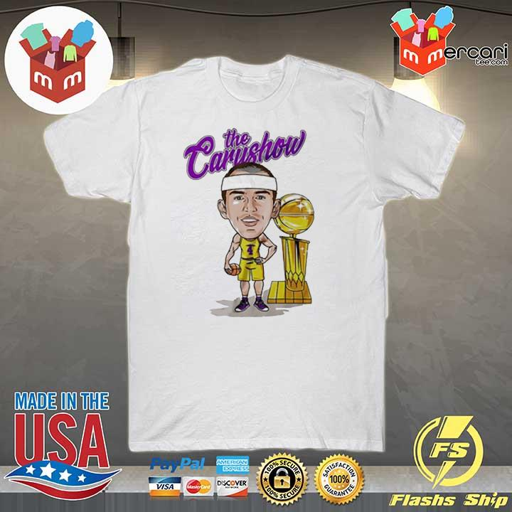 Alex Caruso The Carushow Championship Trophy Unisex Shirt