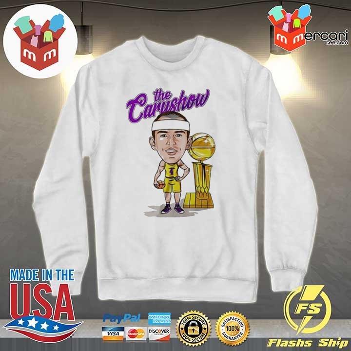 Alex Caruso The Carushow Championship Trophy Unisex Shirt Sweater