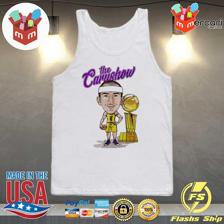 Alex Caruso The Carushow Championship Trophy Unisex Shirt Tank-top