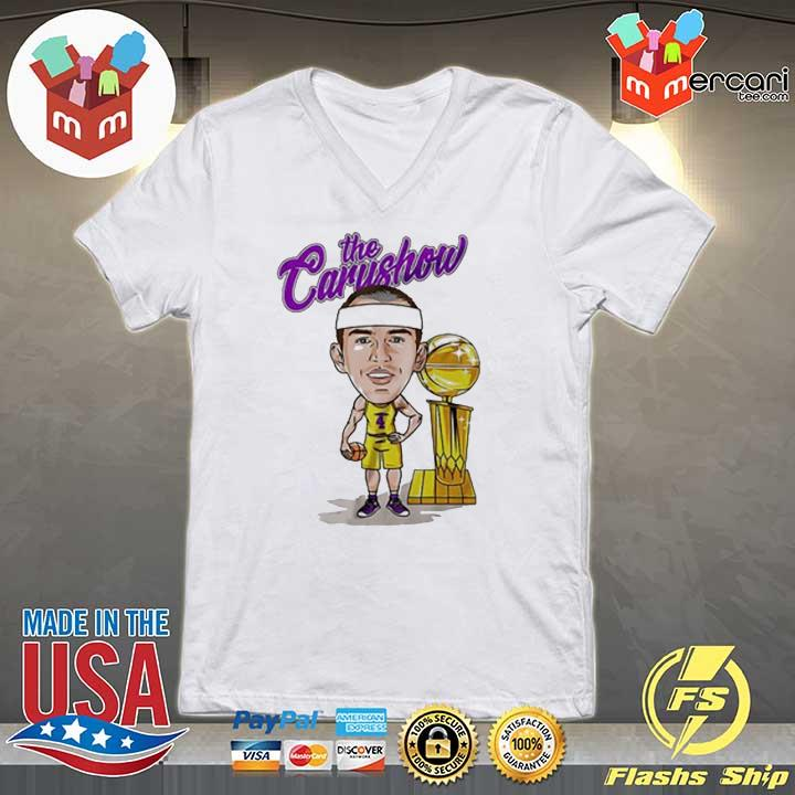 Alex Caruso The Carushow Championship Trophy Unisex Shirt V-neck