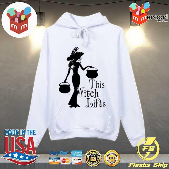CUTE HALLOWEEN THIS WITCH LIFTS SHIRT Hoodie
