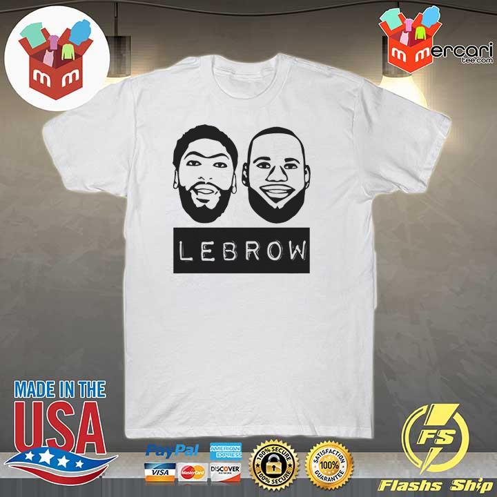 Lebron James And Anthony Davis Lebrow T-Shirt