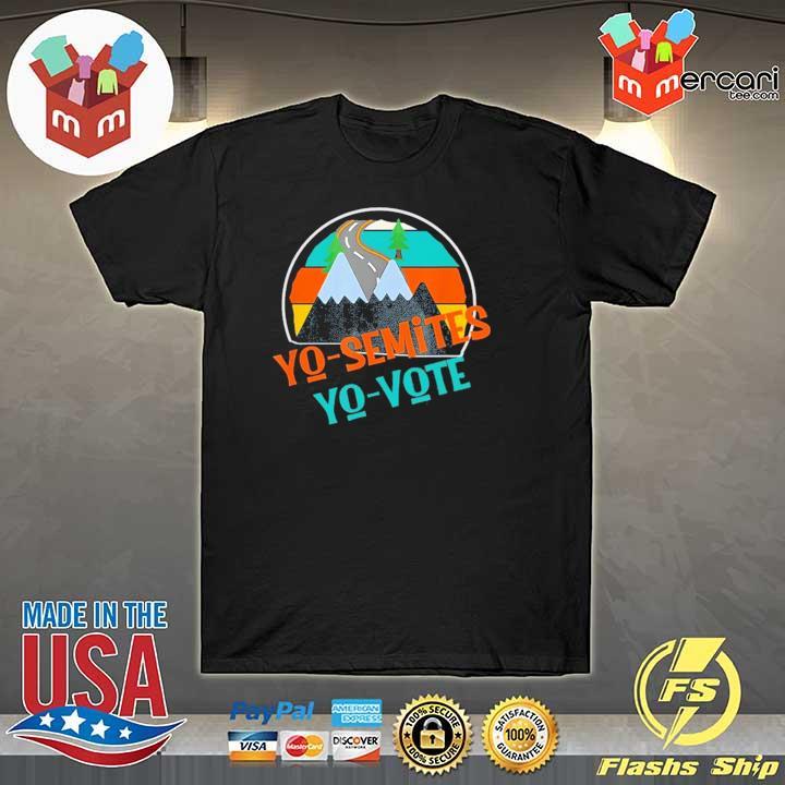 Yo Semites Yo Vote Political Vintage T-Shirt
