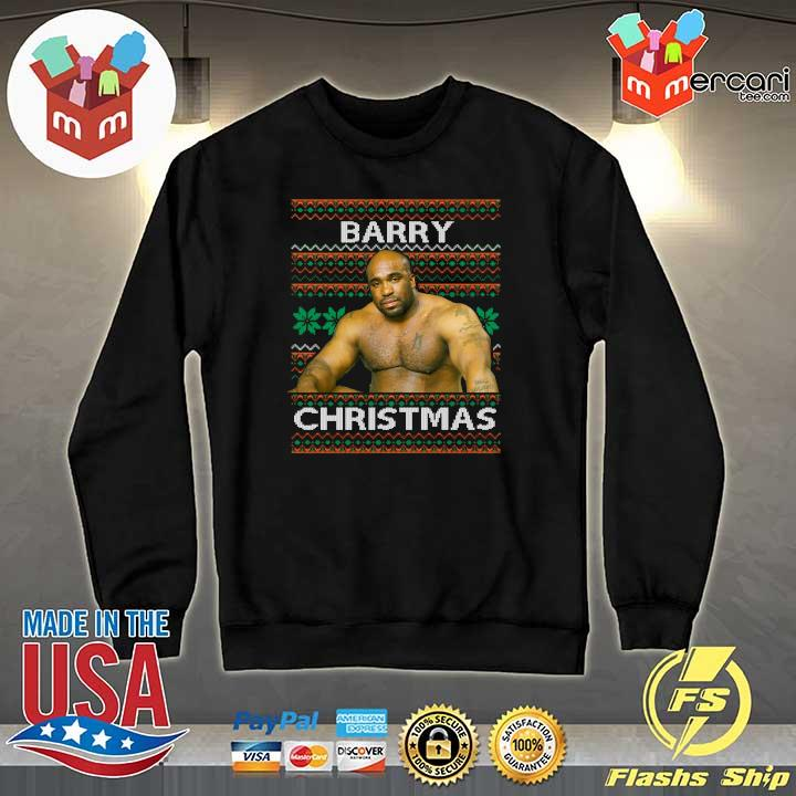2020 barry sitting on a bed meme ugly sweats Sweater