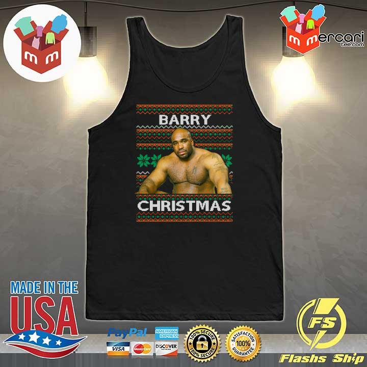 2020 barry sitting on a bed meme ugly sweats Tank-Top