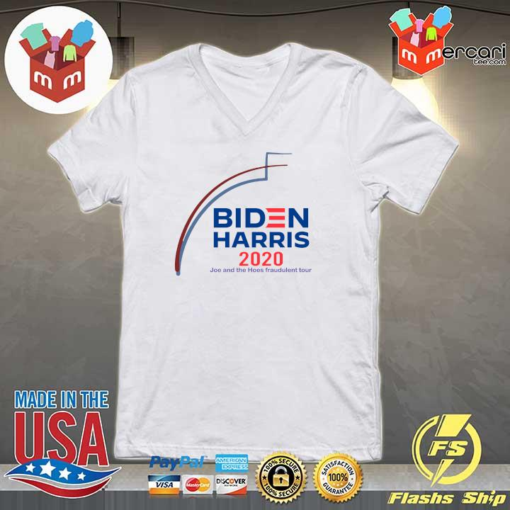 2020 biden harris 2020 joe and the hose fraudulent tour s V-neck