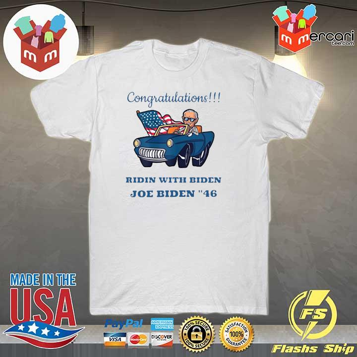 2020 congratulations mr president joe biden forty-six 46th shirt