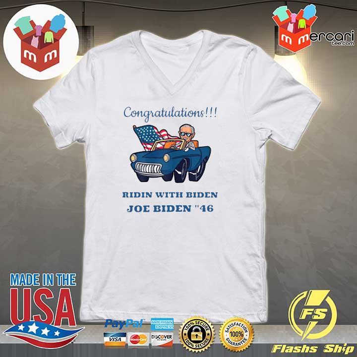 2020 congratulations mr president joe biden forty-six 46th s V-neck