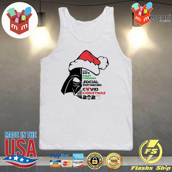 2020 darth vader stay safe first pandemic social distancing covid christmas 2020 sweats Tank-top