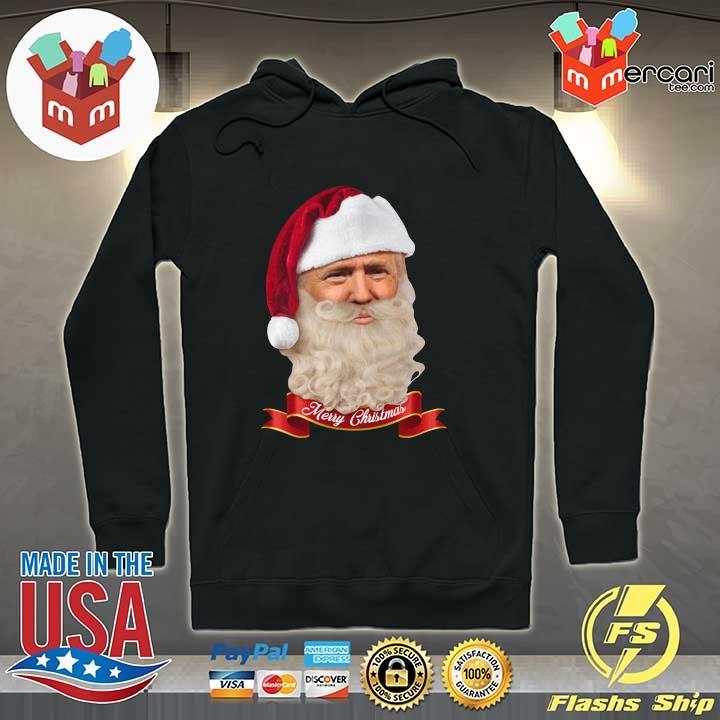 2020 donald trump santa claus merry christmas s Hoodie